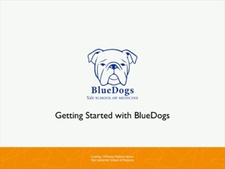 Image of Bluedogs logo.