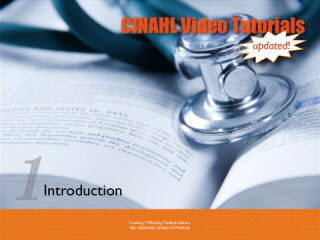 Image of Cinahl Video Tutorials logo.