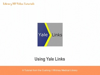 Image of Yale Links logo.